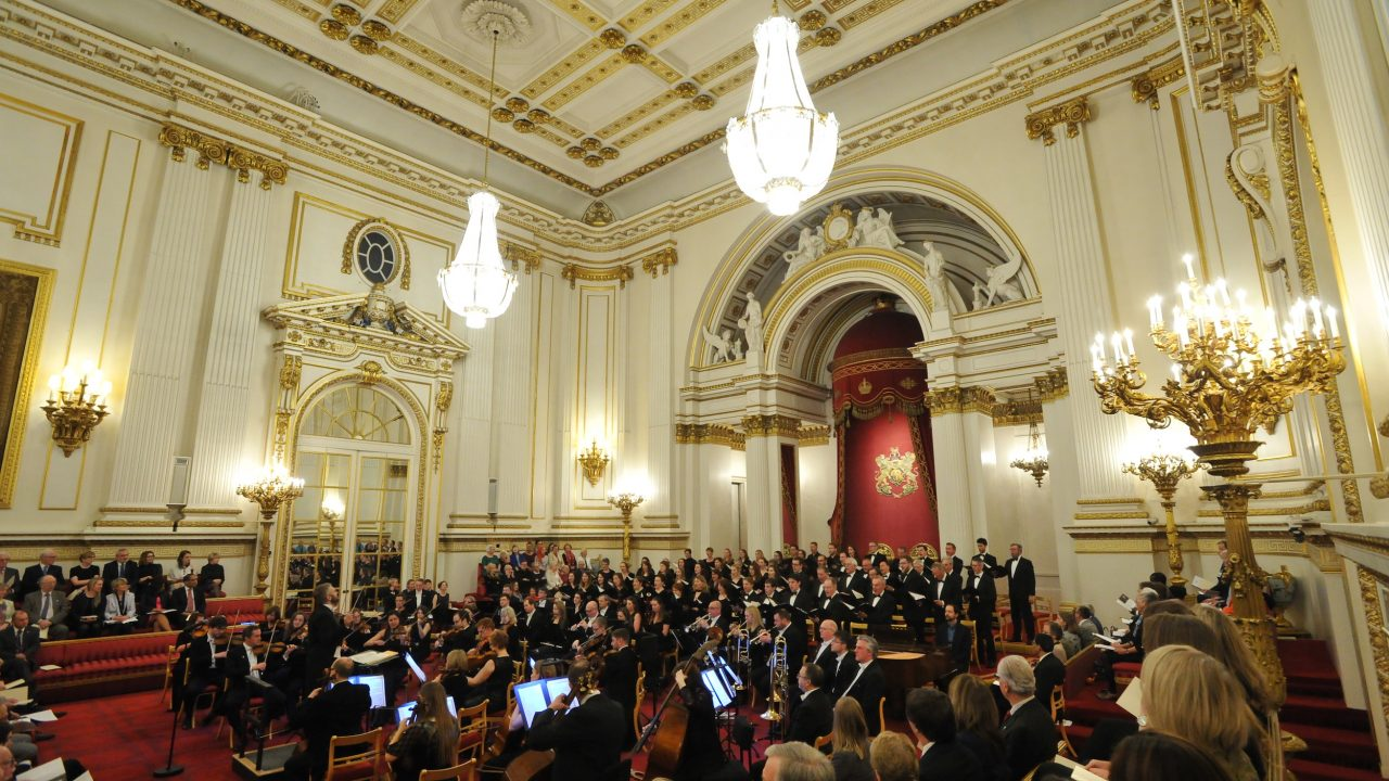 Our world-class Orchestra conducted by our Chief Conductor, Kirill Karabits, performing at Buckingham Palace by invitation of HRH Princess Alexandra in 2018