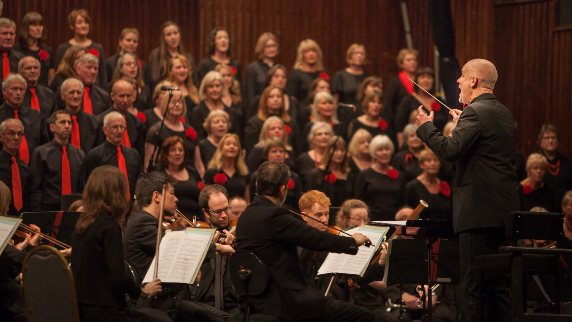 BSO Voices performing