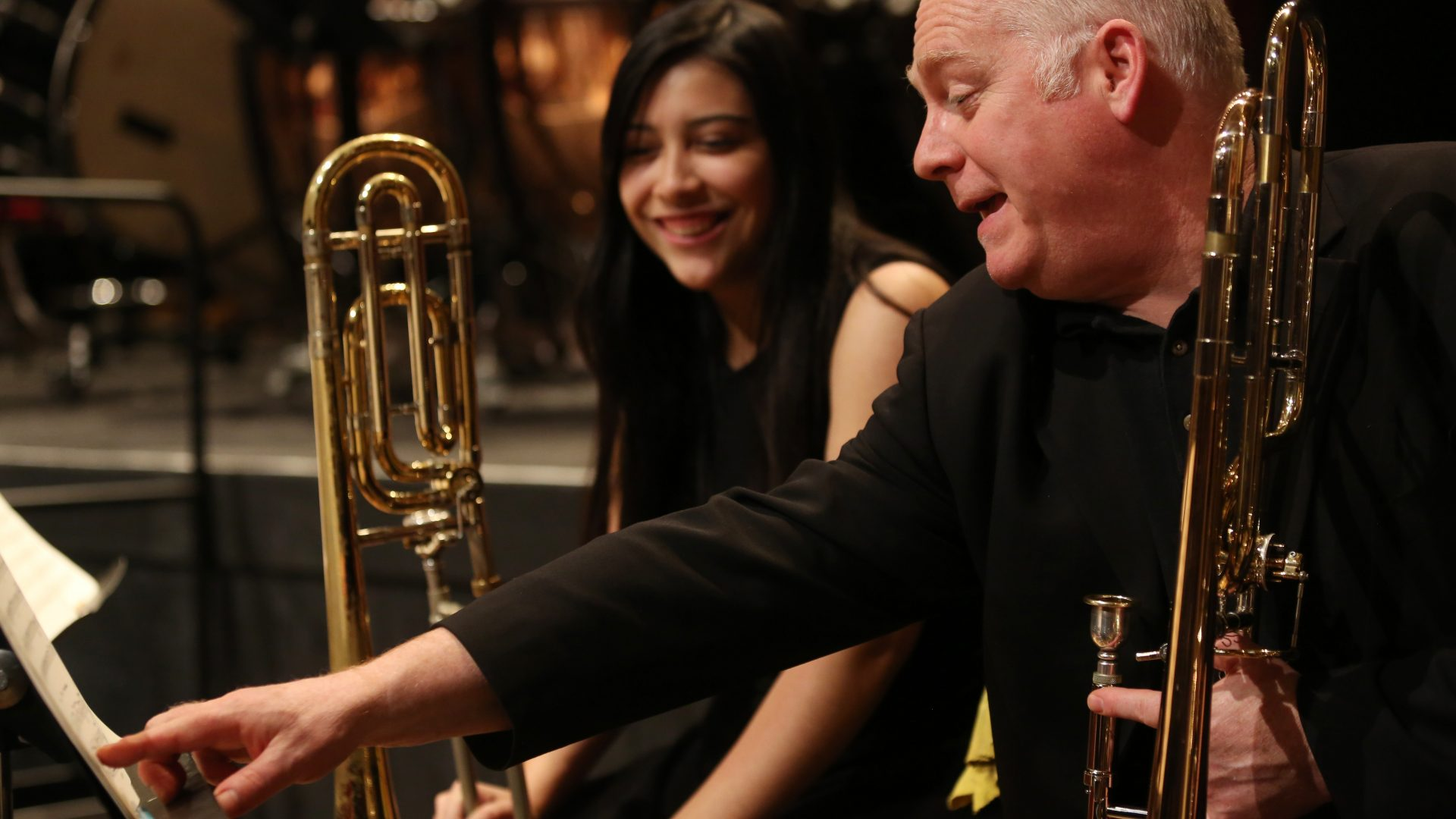 Trinity Laban Partnership Trombone student