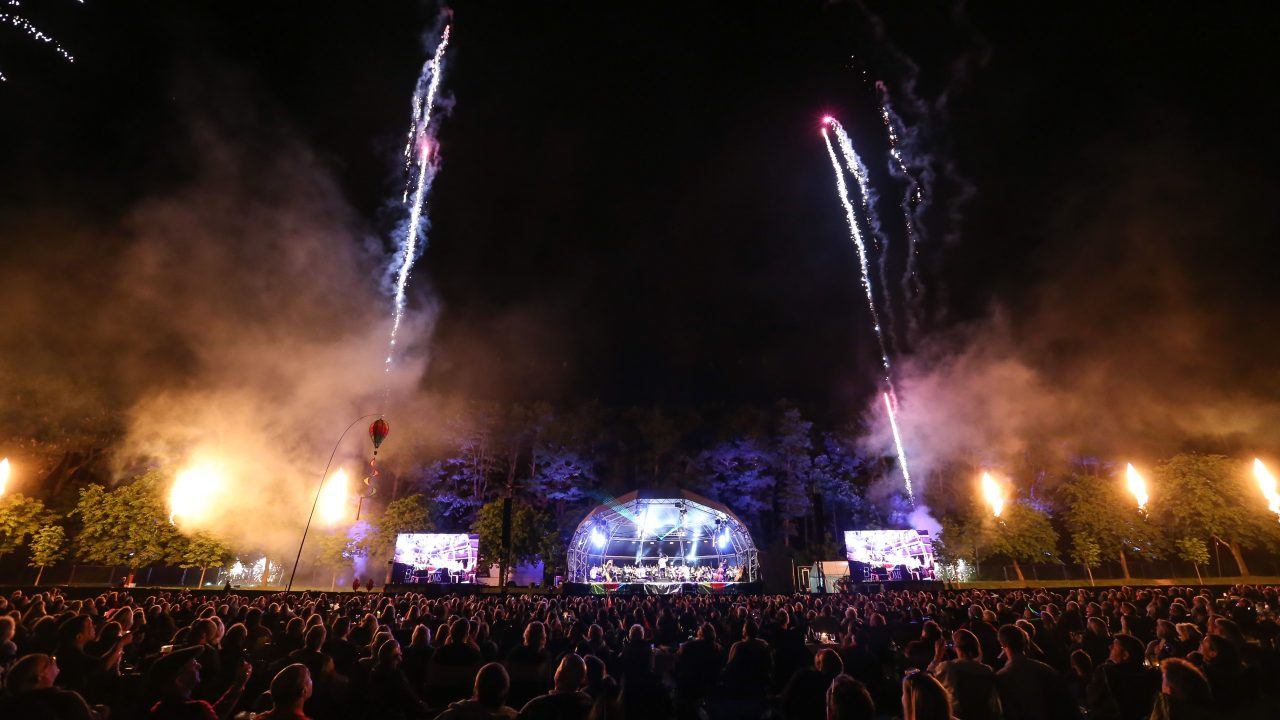 Our annual outdoor spectacular Proms in the Park in Meyrick Park, Bournemouth