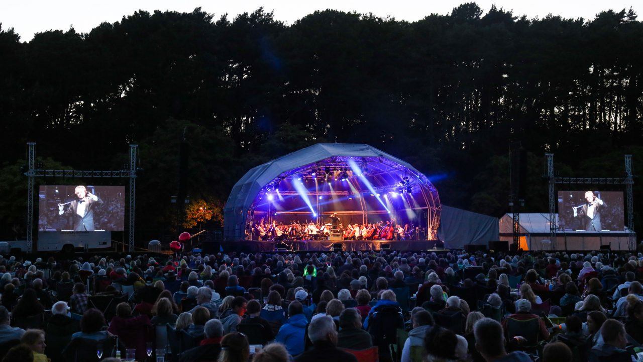 BSO Proms in the Park 2018, conducted by Victor Aviat