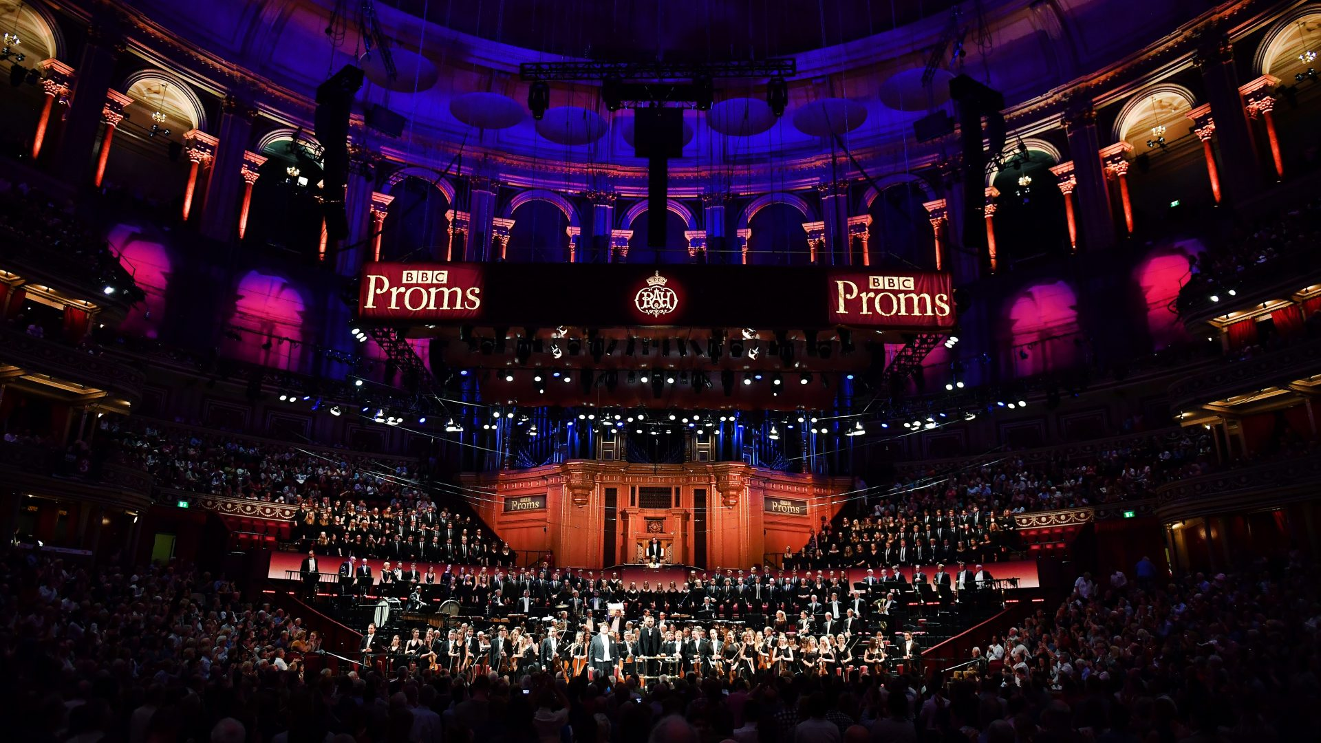 Broadcasting the BSO, a picture from the BBC proms