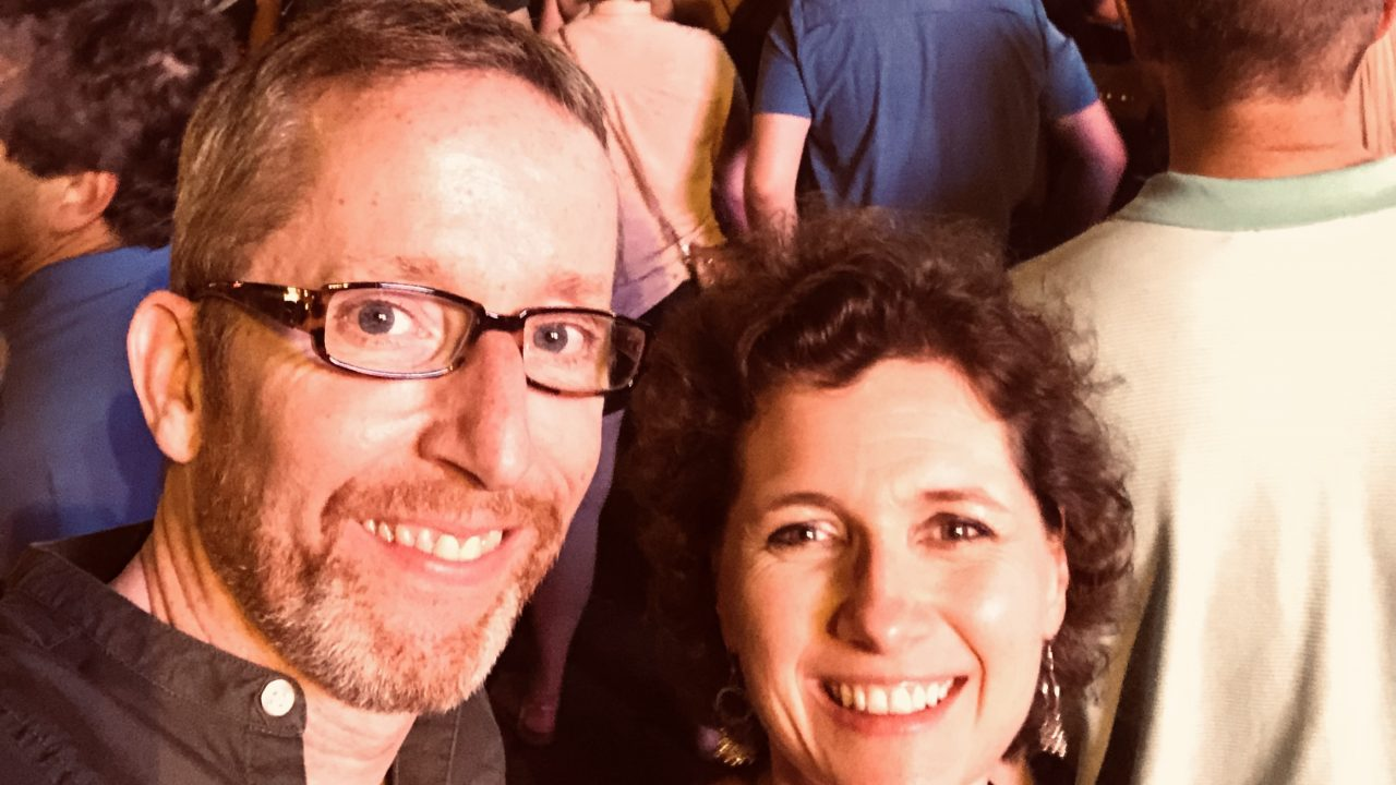 Dougie Scarfe and Lisa Tregale in Nashville for the 2019 League of American Orchestra Conference in Nashville