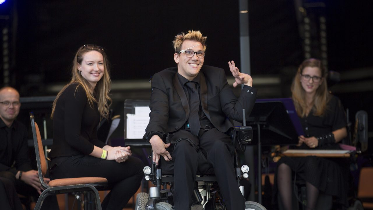 World Premiere:  the first professional disabled-led ensemble make history again