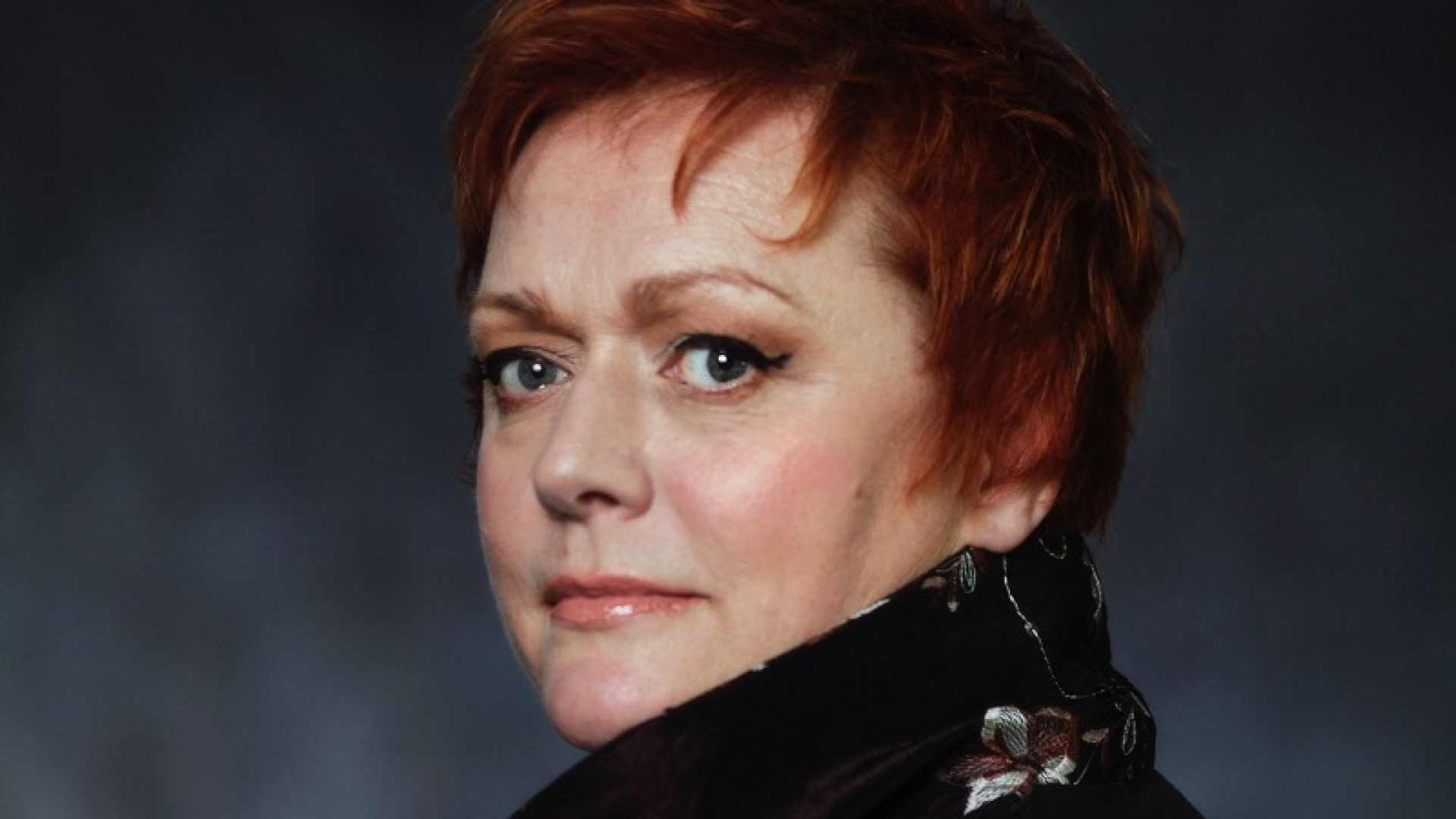 Catherine Foster who is performing the title role in Elektra