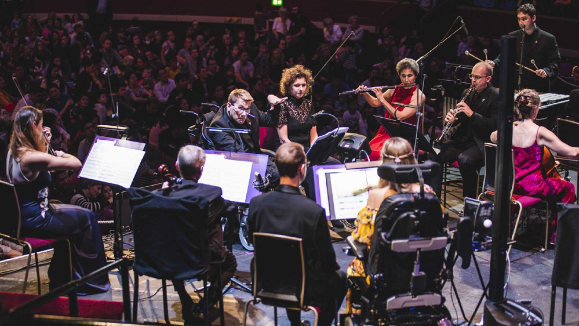 BSO Resound who are nominated for 2 royal philharmonic society awards.