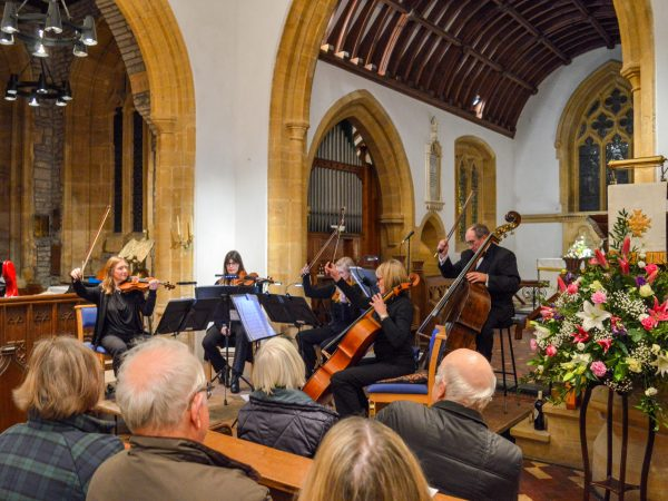 A rural concert with Resonate Strings