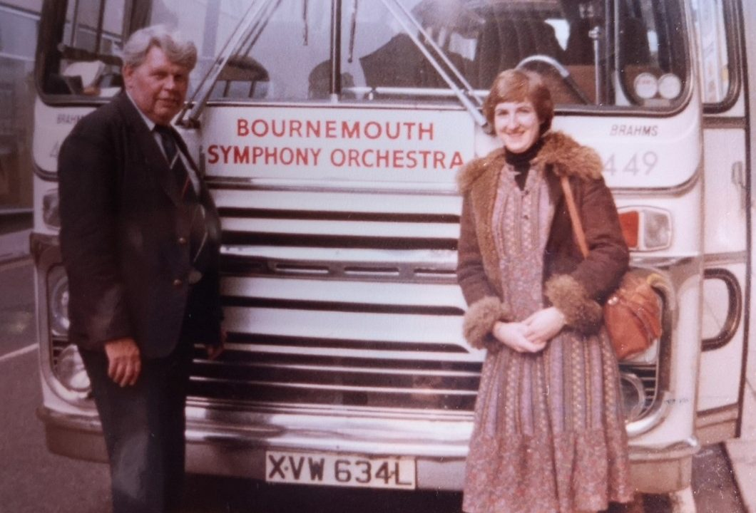 Jacoba in Bristol, 1980