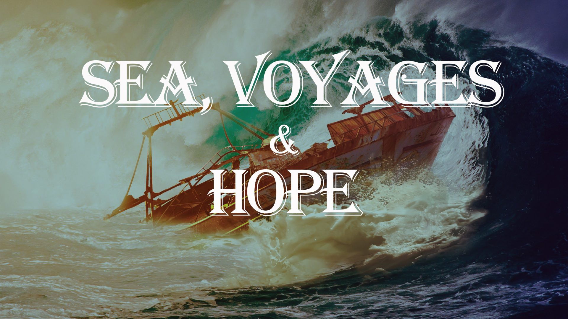 cover for our sea, voyages and hope learning videos