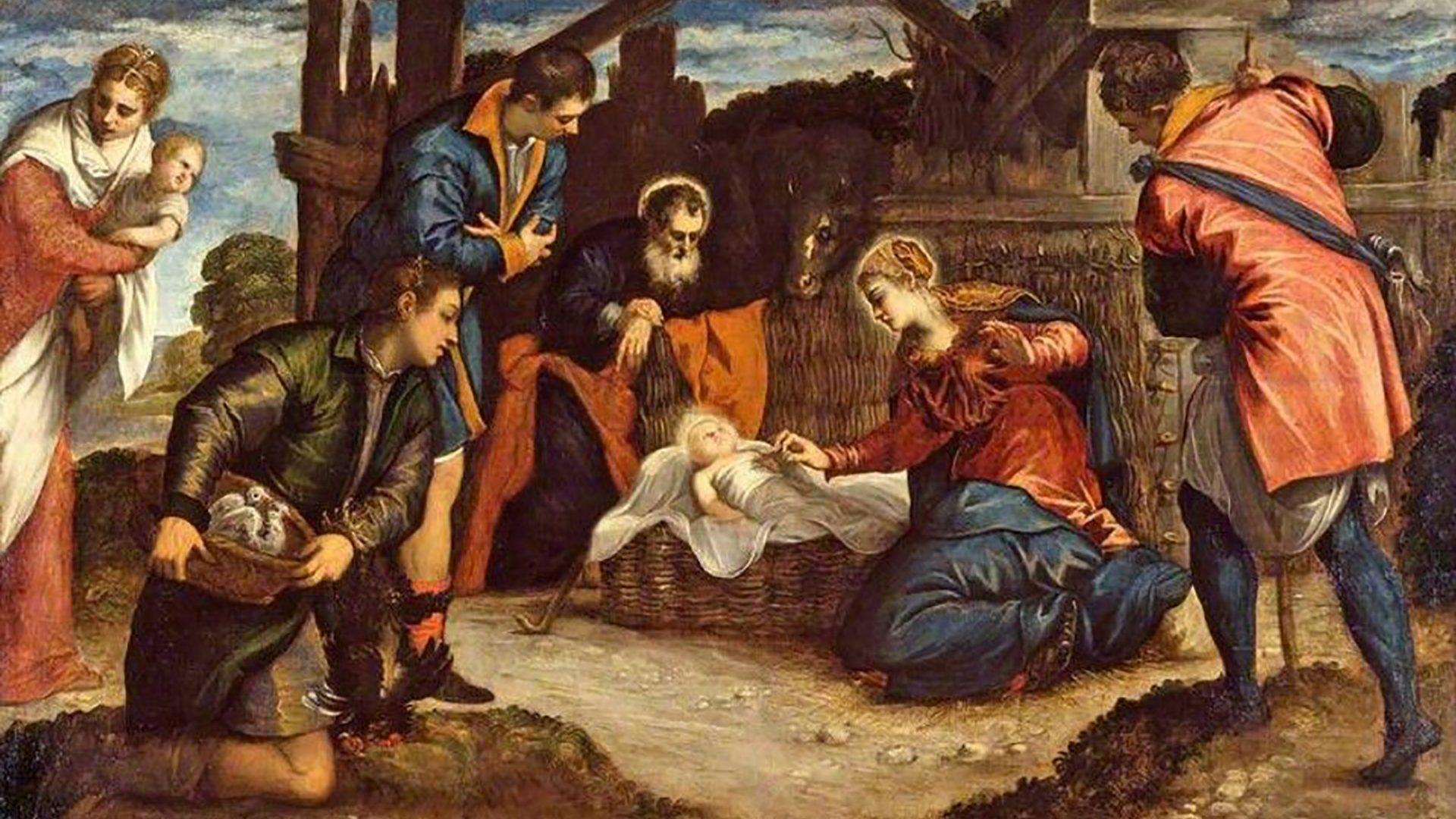 Tintoretto Adoration of the Magi, for our Baroque Christmas
