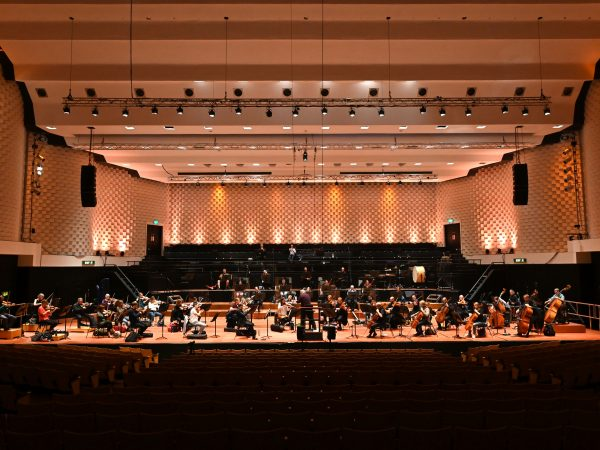 The Orchestra returns to the stage