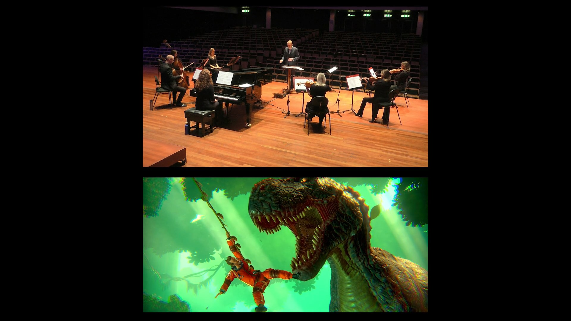 BSO musicians perform the music from Little Orpheus for GCSE pupils (c)BSO